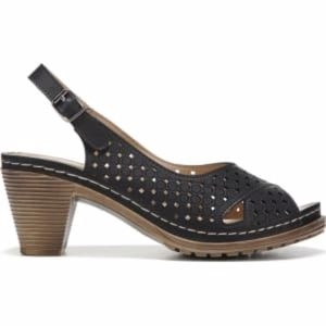 Patrizia Peep Toe Marikana Slingback Heel Sandals
